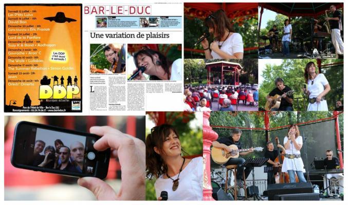 SUZY K & BAND en concert à BAR-LE-DUC (55)